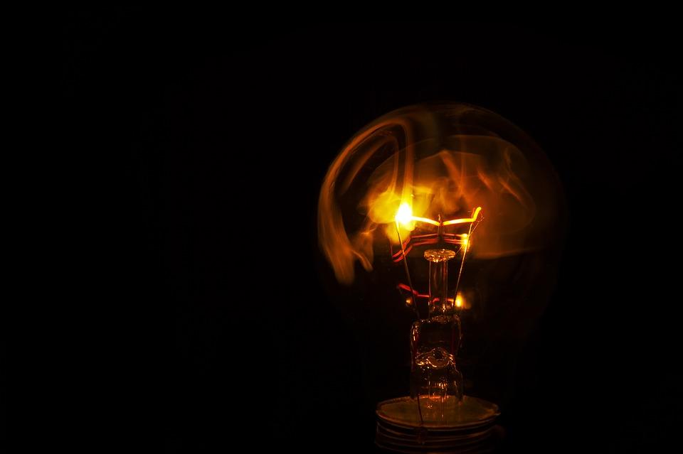 žiarovka, vlákno